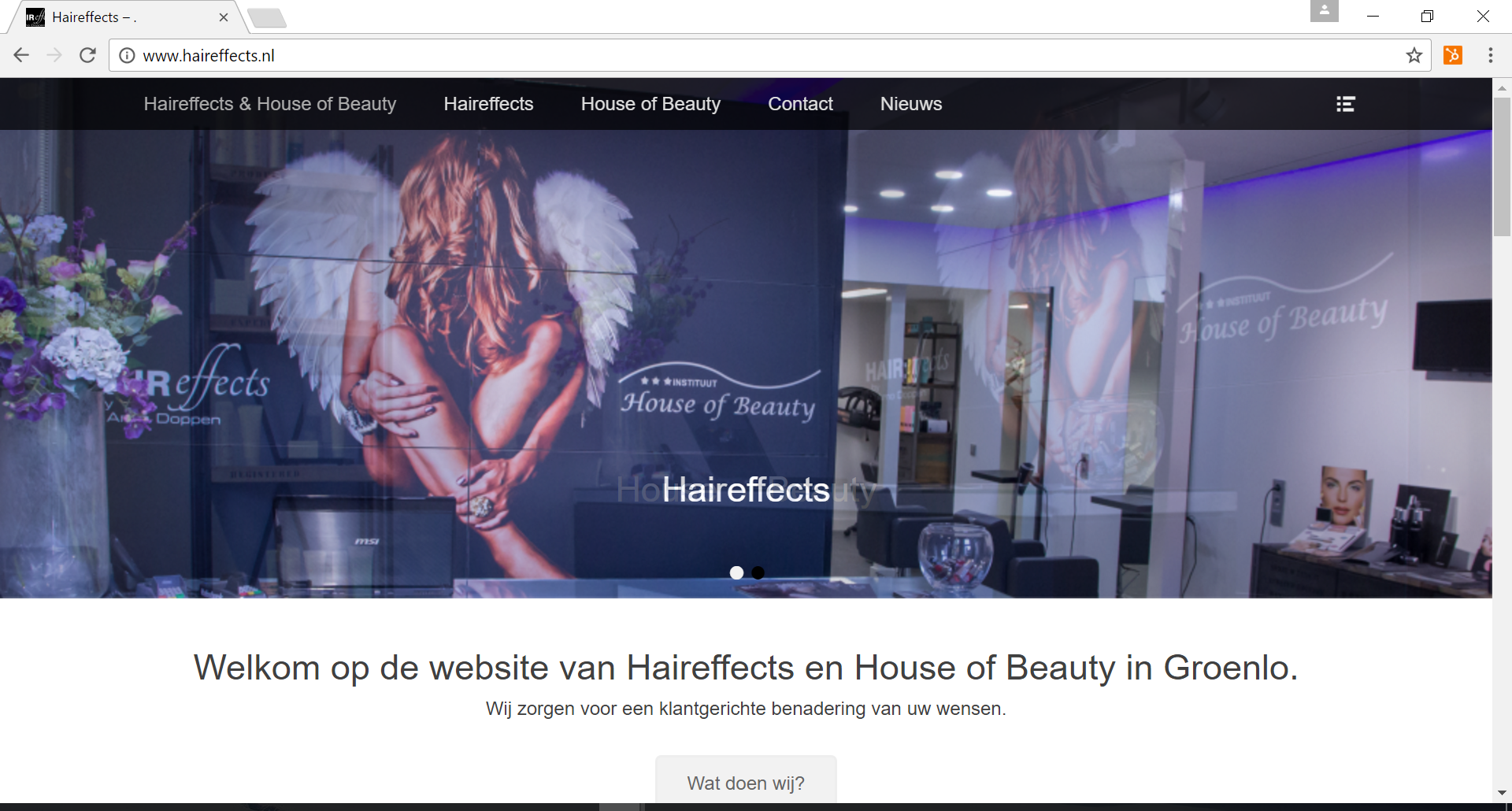 Haireffects en House Of Beauty in Groenlo